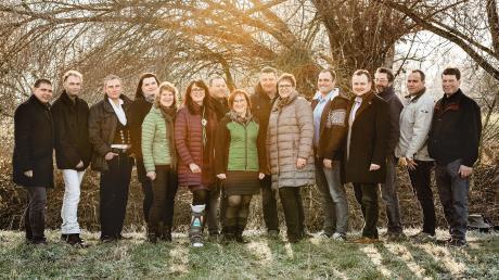 Das sind die Kandidaten der Freien Wählervereinigung Burtenbach für den nächsten Gemeinderat.