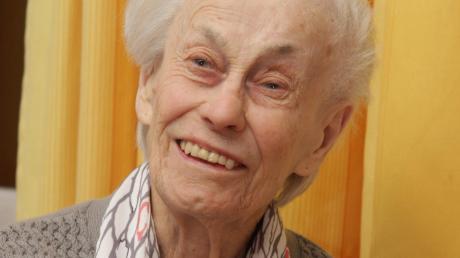 Marianne Schöler feierte im Burtenbacher Schertlin-Haus ihren 95.