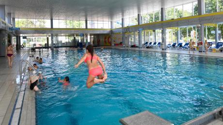 Das Gartenhallenbad in Leipheim soll 2022 saniert werden.