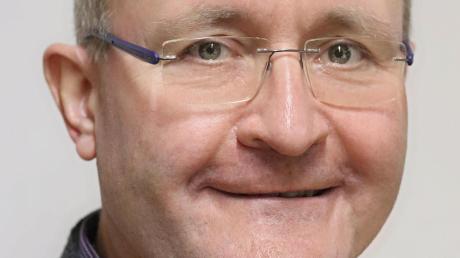 Christian Ramin ist einer von zwei Bürgermeisterkandidaten. in Dürrlauingen.