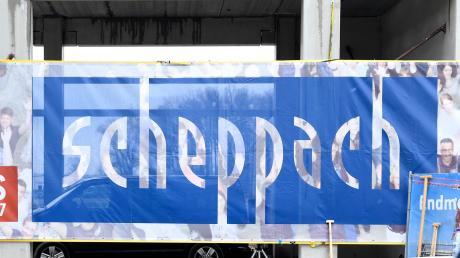 Das Unternehmen Scheppach, hier beim Spatenstich für den Logistikstandort in Günzburg.