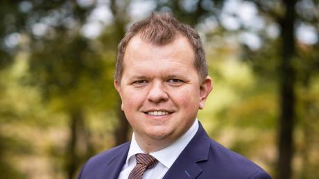 Michael Fritz will Bürgermeister in Jettingen-Scheppach werden.