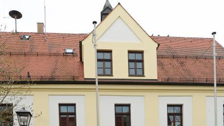 Das Rathaus in Leipheim .
