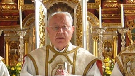 Pater Jordan Fenzl beim festlichen Gottesdienst.