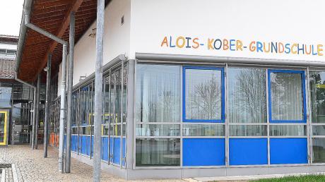 Die Alois-Kober-Grundschule in der Gemeinde Kötz.