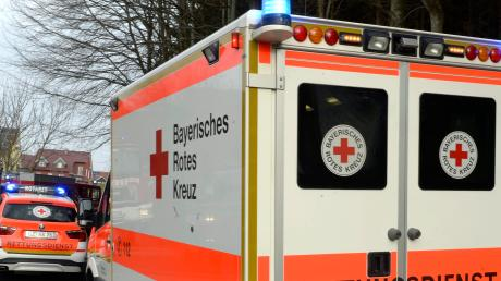 Auch der Rettungsdienst braucht Schutzmaterial.