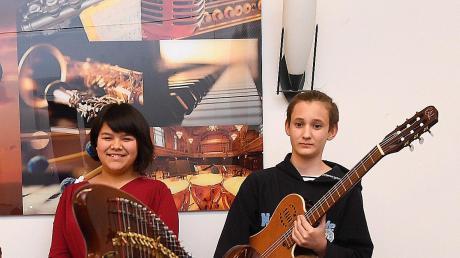 Samira-Fay Winter und Anton Bareis qualifizierten sich für den Landeswettbewerb Jugend musiziert, der nun aufgrund der Corona-Krise ausfällt.