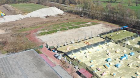 Im Gewerbegebiet Prinz-Eugen-Park (PEP) in Günzburg wird sich die Firma Glatthaar ansiedeln. Der Standort liegt nördlich der Paintball-Anlage.