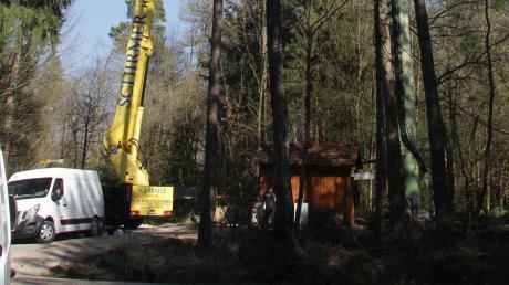 Die wegen des Corona-Virus verzögerten Modernisierungsarbeiten am etwa 50 Meter hohen Funkmasten im Ortsteil Unterrohr verursachten einen wochenlangen Ausfall des Telekom-Mobilfunks im Kammeltal.