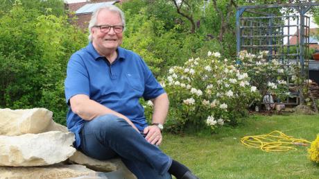 Nach zwei Amtsperioden als Bürgermeister der Gemeinde Landensberg möchte sich Sven Tull seinem Zuhause widmen, vor allem seinem Garten – in Ruhe und ohne dabei etwas zu überstürzen.