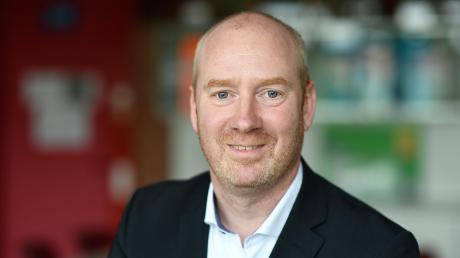 Oliver Wahl ist ab 1. August der neue Schulleiter der Dominikus-Zimmermann-Realschule.