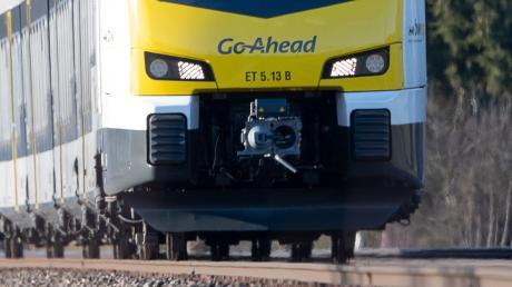 Züge der Firma Go-Ahead könnten ab Dezember 2022 im Landkreis Günzburg unterwegs sein. Das Foto entstand auf der Filstal-Strecke in Baden-Württemberg.