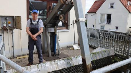 Davud Mesic reanimierte das vierjährige Kind, das in die Mindel gefallen war. Er ist Mitarbeiter in einem Wasserkraftwerk in Burgau.