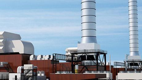Eine nun schon ältere Illustration des möglichen Reservekraftwerks in Leipheim.