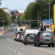 Seit etwa drei Monaten ist der Bereich rund um das Günzburger Polizeiohr eine Baustelle. Ab Montag wird die Kreuzung komplett gesperrt.