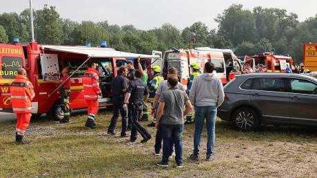 Die Explosion am Günzburger Bahnhof ist das beste Beispiel dafür, wie Feuerwehr, Polizei, Stadt und Landkreis erfolgreich zusammenarbeiten.