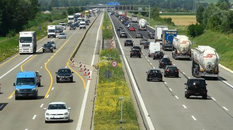 Auf der Autobahn ist wieder viel los: Zwischen Leipheim und Ulm/Elchingen ist die Erneuerung der Fahrbahnen schneller geschehen, als geplant.