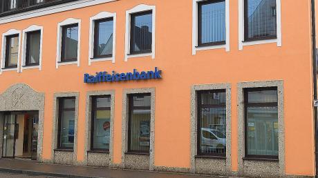 Die Raiffeisenbank in Jettingen.