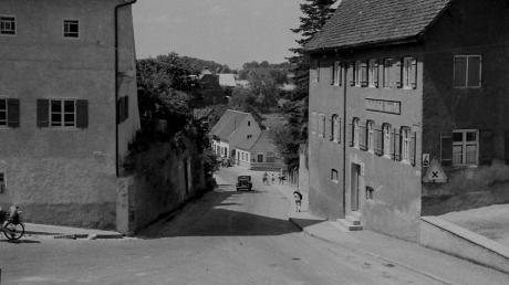 Dieses Foto des Leipheimer Stadtbergs stammt vermutlich aus den fünfziger Jahren.