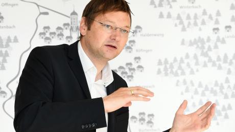 Unmittelbare Gestaltungsmöglichkeiten schätzt der Günzburger CSU-Landrat Hans Reichhart.