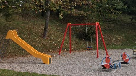 Dieser Spielplatz in Bubesheim soll neu gestaltet werden.