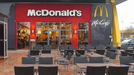 Das McDonald's-Restaurant an der Ulmer Straße in Günzburg.