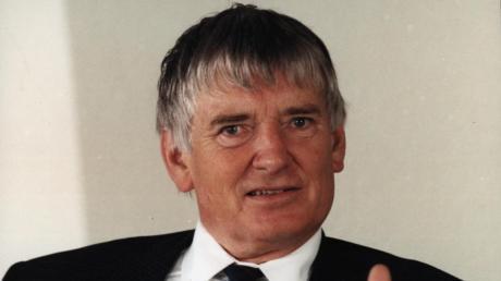 Auch der spätere Bundesinnenminister Otto Schily (hier ein späteres Bild) war für den Landtagswahlkampf in den Kreis Günzburg gekommen.