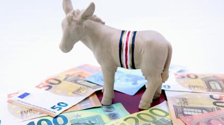 Da freut sich auch Rettenbachs Wappentier, der Esel Andi: Die finanzielle Situation in der Gemeinde ist äußerst zufriedenstellend – vor allem im Hinblick auf die geplanten Projekte in den kommenden Jahren.