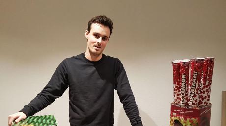 Verbringt dieses Jahr ausnahmsweise ein ruhiges Silvester: Dominic Weinstein von Effectart in Bibertal-Bühl.