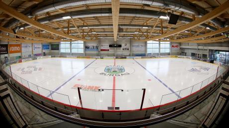 Das Burgauer Eisstadion.