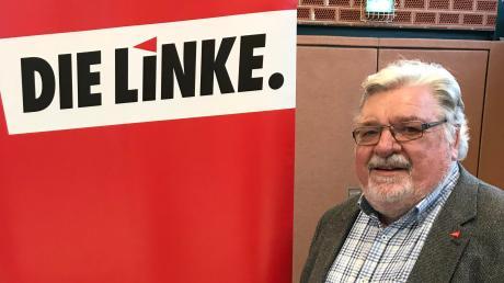 Xaver Merk ist der Direktkandidat der Partei Die Linke. Der 67 Jahre alte Gewerkschafter aus Senden tritt als Direktkandidat zur Bundestagswahl in diesem Herbst an.