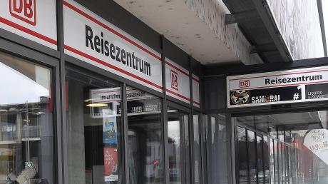 Das Reisezentrum der Deutschen Bahn am Günzburger Bahnhof schließt Ende 2022.