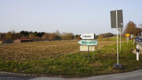 Bubesheims Bürgermeister Gerhard Sobczyk würde hier gerne ein Mischgebiet errichten und so die Tennisplätze (ganz links) an diesem Standort sichern.