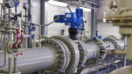 Eine Gasdruckregel- und Messanlage wird auch in Kötz entstehen.