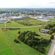 Im Gewerbegebiet Areal Pro auf dem ehemaligen Fliegerhorst wollen sich weitere Firmen ansiedeln.
