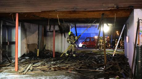 Die Feuerwehr war an der Grundschule Ichenhausen im Einsatz.