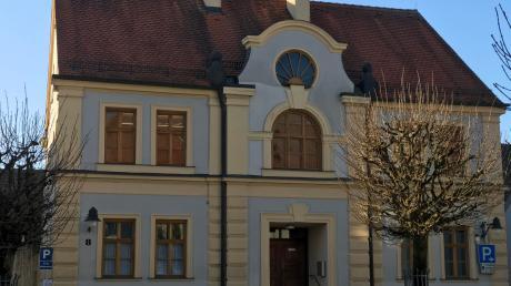 Das neue Domizil des Zweckverbandes digitale Schulen ist das frühere Rabbinatshaus in Ichenhausen.