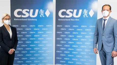 Am Samstag haben sich Julia Dümmler und Alexander Engelhard den CSU-Delegierten im gesamten Bundeswahlkreis per Videokonferenz vorgestellt.