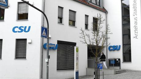 Sauter muss bis Ende Mai sein Büro in der CSU-Geschäftsstelle in Günzburg räumen.