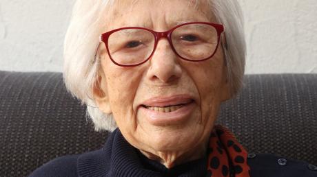 Elisabetha Miller ist seit mehr als 70 Jahren Burgauerin. Heute feiert sie ihren 100. Geburtstag.