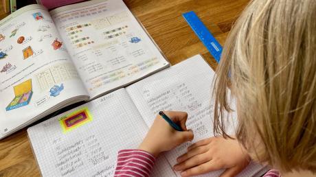 """Distanz- ersetzt keinesfalls den Präsenzunterricht. Das weiß auch das Schulamt, das für Grund- und Mittelschulen zuständig ist. Es hat daher ein """"Brückenangebot"""" angeregt. Das Förderprogramm, das der Landkreis finanziert, soll helfen, den Lernstoff zu verinnerlichen."""