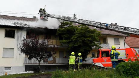 Im Juni 2020 setzte ein Bewohner die Asylunterkunft in Reisensburg in Brand. Am Montagnachmittag verkündete das Landgericht Memmingen das Urteil.