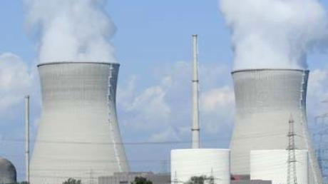 Das Atomkraftwerk Gundremmingen.