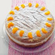 Hier finden Sie ein Rezept für Mandarinentraum-Torte.