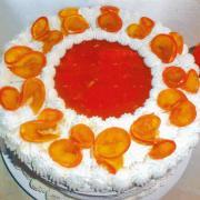 Backen Sie mit dem Rezept eine Mandarinen-Torte.