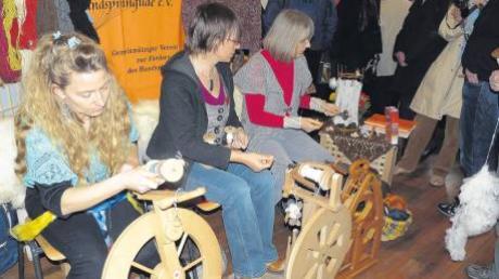 Traditionellen Handarbeiten haben sich die Mitglieder der Deutschen Spitzengilde verschrieben. Am Wochenende stellte der Verein in Altenstadt aus.
