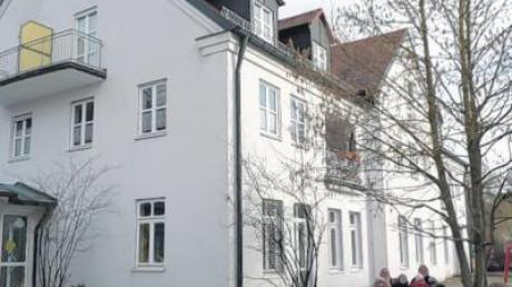 Die Kinderkrippe und der Kindergarten in Altenstadt.