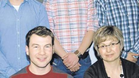 Der Vorstand des SV Greimeltshofen (von links), sitzend: Tobias Seemiller und Sandra Grauer; stehend: Gerhard Sauter, Peter Gutmann und Christian Grauer.