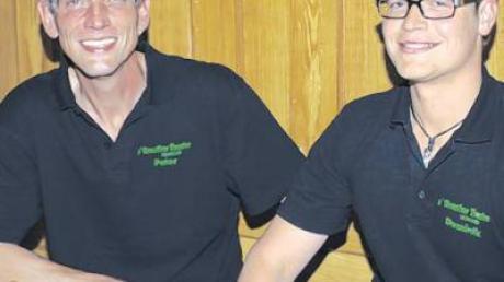Der neu gewählte Vorsitzende des Greuther Theater Peter Ries (links) und sein Stellvertreter Dominik Konrad.