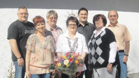 Das Team der AWO Altenstadt (von links): Tobias Steidle, Daniela Kiebele, Hannelore Kucharek, Doris Singer, Michael Kretzschmar, Karin Rau, Siegfried Singer.